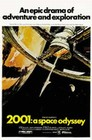 1 x 2001 - A SPACE ODYSSEY - POSTER