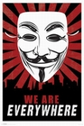 V For Vendetta Poster Maske We Are Everywhere