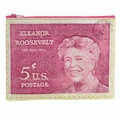 Eleanor Roosevelt Zipper Tasche