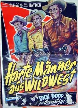 Harte Männer aus Wildwest - Poster - Filmplakat