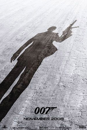Quantum of Solace - James Bond 007 - Poster