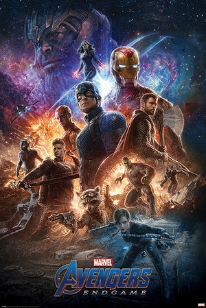 Avengers: Endgame Poster From the Ashes