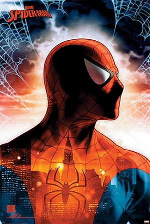 Spiderman Poster - Marvel Comics: Protector Of The City