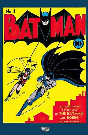 DC Comics Poster Batman