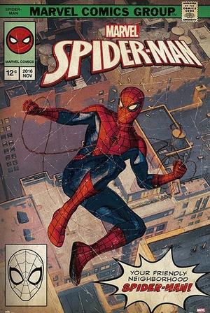 Marvel Poster Spider-Man Comic Front