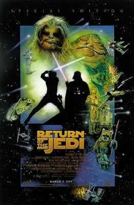 Return of the Jedi - Star Wars - Poster