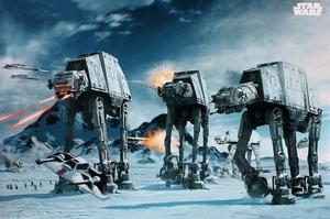 Star Wars Poster AT-AT Fighter