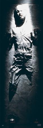 Star Wars Poster Han Solo Carbonite