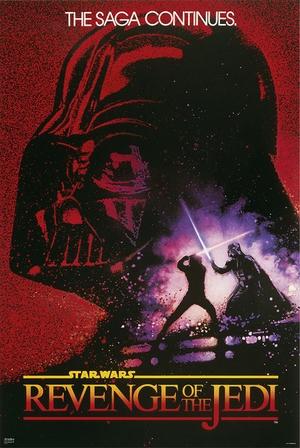 Star Wars Poster Revenge of the Jedi