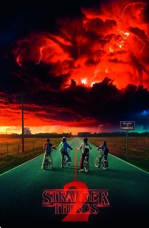 Stranger Things Poster Season 2