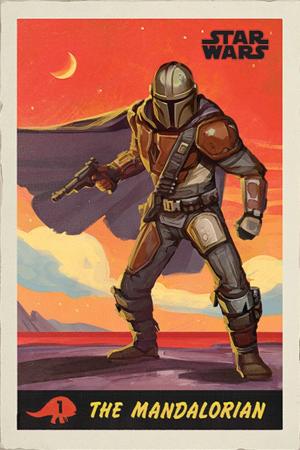 The Mandalorian - Star Wars Poster