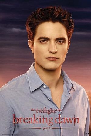 Twilight Breaking Dawn Poster Part 1 Edward