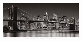 Henri Silberman - Brooklyn Bridge 2007 Poster
