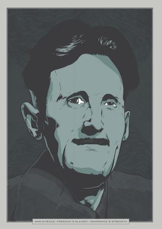 Orwell Plakat