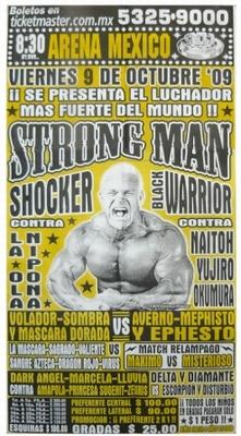 G.T.W.A - Lucha Libre Poster - Strong Man-9 Okt 09