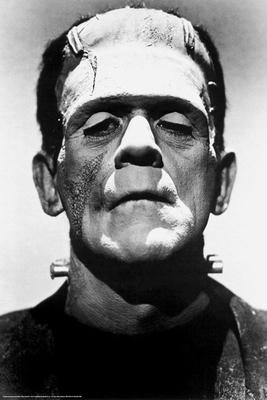 Frankenstein Poster Boris Karloff