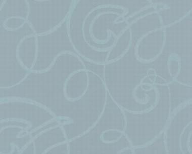 Tapete - Flock II - Blau - Curls