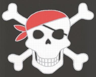 Tapete - Kinderzimmer - Piraten - Single