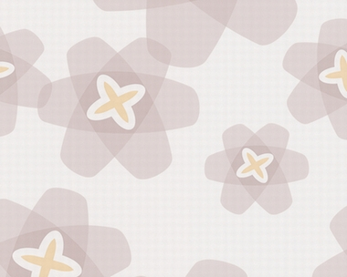 Tapete - Contzen Papers - Transparent Flowers - Grau