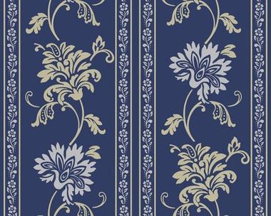 Tapete - Classic Fleece - Enzianblau