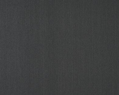 Tapete - Flock - schwarz - uni
