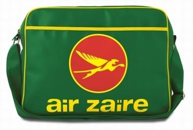 Logoshirt - Air Zaire Tasche - Grün - Fake Leather