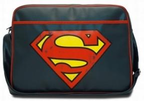 Logoshirt - Superman Logo Tasche - Querformat