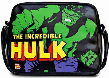 Marvel - Hulk Tasche - Schwarz - Kunstleder