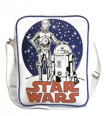 Star Wars Droiden R2D2 C3PO Tasche - Hochformat
