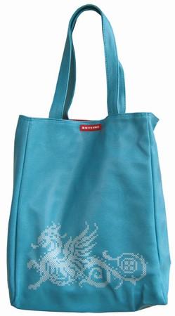 Skyline Tasche - Quito Dragon Shopper - Blau