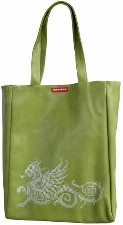 Skyline Tasche - Quito Dragon Shopper - Grün