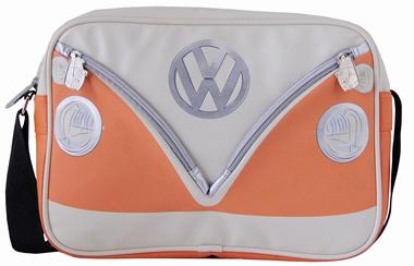 VW Bus Tasche Bulli - Orange -  Querformat - Volkswagen