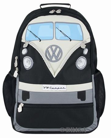VW Bulli Rucksack - schwarz