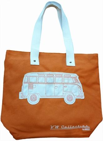 VW Bus Tasche - T1 - Leinen orange