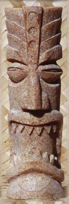 Tiki Teelichthalter  Tiki Makai - Teak