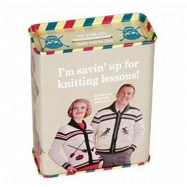 Spardose - Savin Up knitting lessons