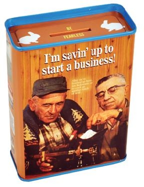 Spardose Savin Up to Start a Business
