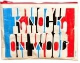 Knock on Wood Zipper Tasche