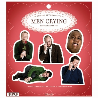 Men Crying Magnet Set