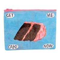 Get Me Cake Zipper Tasche