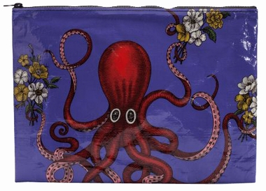Jumbo Zipper Tasche - Octopus