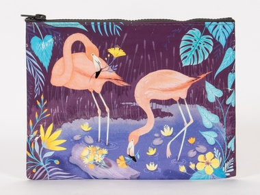 Zipper Tasche - Flamingo