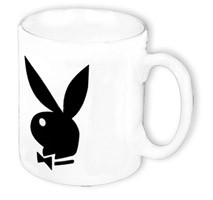 Playboy Classic-Tasse weiss