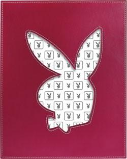 Playboy Bilderrahmen Leder pink
