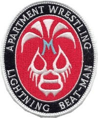 APARTMENT WRESTLING PATCH