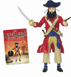 Pirate Action Figur Blackbeard