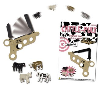 Cattle-pult