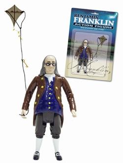 Benjamin Franklin Action Figur